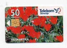 Telekom Slovenije 50 Imp. - Telekartica - Slovénie