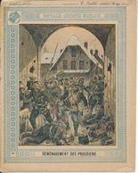 Couverture De Cahier - Déménagement Des Prussiens - Schuehmacher - Protège-cahiers