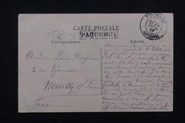 """FRANCE - Cachet """" Paquebot """" Sur Carte Postale De Tourane En 1907 Pour La France - L 22699 - Marcophilie (Lettres)"""