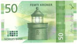 Norway 50 Kronen 2017(2018) Pnew UNC - Noorwegen