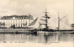 D35  SAINT- MALO  Hôtel Franklin  ..... - Saint Malo