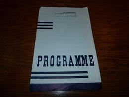 Programme Théâtre Gosselies En Hommage Abbé Bodson 1954 - Programmes