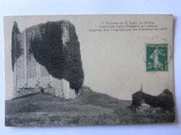 CPA (87) Haute Vienne - Ruines De La Tour De Broue Gastrum Gallo Romain - Reprise Aux Anglais Par Du Guesclin En 1375 - Other Municipalities