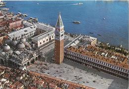 VENISE VENEZIA - Piazza S. Marco Dall'aereo - Vue Aérienne - Aerial View - Venezia (Venice)