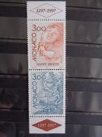 MONACO 1997 Y&T  N° 2104 & 2105 SE TENANT ** - EUROPA CONTES ET LEGENDES - Neufs