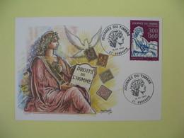 Carte  - Journée Du Timbre  1997  Aubevoye - France