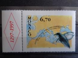 MONACO 1997 Y&T  N° 2133 ** - 49e SESSION DE LA COMMISSION INTERN. PROTECTION DES BALEINES - Neufs