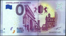 Zero - BILLET EURO O Souvenir - CASTELLEONE ANTIQUARIA 2018-1set UNC {Italy} - EURO