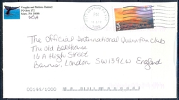 K1- USA United States Postal History Cover. Post To U.K. England. - Postal History