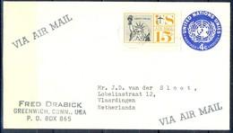 K7- USA United States Postal History Cover. Post To Netherlands. Liberty. - Postal History