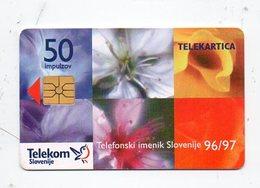 Telekom Slovenije 50 Imp. - TIS 96/97 - Slovenia