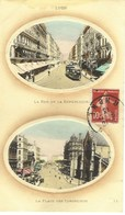Lyon -  Rue De La République - Place Des Cordeliers, 1913 - Lyon