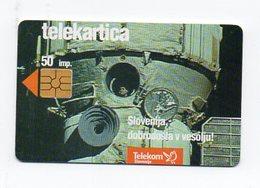 Telekom Slovenije 50 Imp. - Slovenija V Vesolju - Slovenia