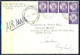 K15- USA United States Postal History Cover. Post To U.K. England. Liberty. - Postal History