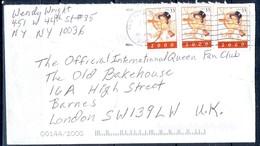 K17- USA United States Postal History Cover. Post To U.K. England. - Postal History