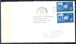K18- USA United States Postal History Cover. Post To U.k. England. Liberty. - Postal History
