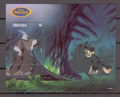 Disney Grenada 1998 Hercules #2 MS MNH - Disney
