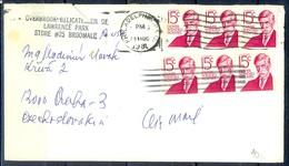 K24- USA United States Postal History Cover. Post To Czechoslovakia. - Postal History