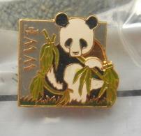 Pin S  Panda  WWF  Fond Mondial Pour La Nature - Animaux
