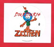 1 Autocollant ZELTRON 1980 - Autocollants