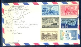 K29- USA United States Postal History Cover. Post To U.K. England. Car. Transport. Bird. - Postal History