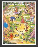 Disney Micronesia  1998 Winnie The Pooh Sheetlet MNH - Disney