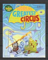 Disney Palau 1998 A Bug's Life MS #4 MNH - Disney