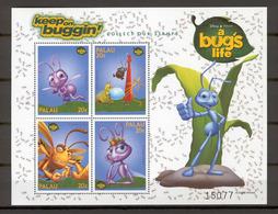 Disney Palau 1998 A Bug's Life Sheetlet #1 MNH - Disney