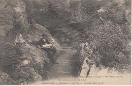CPA Cavalière - Escaliers Du Cap Nègre - Accident Dans La Bain (?) - Avec Animation - Autres Communes