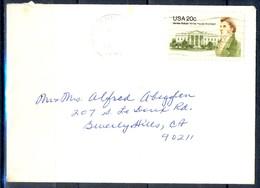 K36- USA United States Postal History Cover. - Postal History
