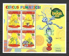 Disney Palau 1998 A Bug's Life Sheetlet #3 MNH - Disney