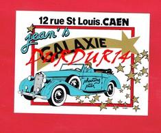 1 Autocollant GALAXIE JEAN'S  CAEN 12 Rue St Louis - Autocollants