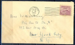 K40-  USA United States Postal History Cover. - Postal History