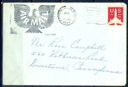 K42- USA United States Postal History Cover. - Postal History