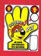 1 Autocollant Souriez PIF Je Suis Un Enfant Du Monde 1979 - Autocollants