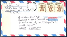K48- USA United States Postal History Cover. Post To West Germany. - Postal History