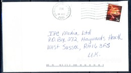 K52- USA United States Postal History Cover. Post To U.K. England. Birds. - Postal History