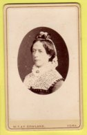 Victorian CDV - Lady Titled The Devils Wife - W. T. & F. Gowland - York - Photographs