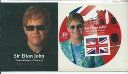 Gibraltar 2004 Elton John Presentation Pack Tercentenary Tour. Sgms1093 - Gibraltar