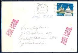 K61- USA United States Postal History Cover. Post To Czechoslovakia. - Postal History