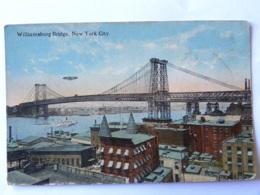 CPA USA - WILLIAMSBURG BRIDGE - NEW YORK CITY - Williamsburg Bridge, New York City - New York City