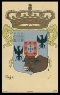 BEJA - BRASÕES - ( Ed. A Editora 2ª Serie Nº 17) Carte Postale - Beja