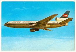 AK (JAT) JUGOSLAV AIRLINES Airplane Douglas DC-10-30 (YU-AMA) Airline Issue Postcard - 1946-....: Modern Era