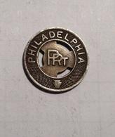 TOKEN GETTONE STATI UNITI USA TRANSIT PHILADELPHIA P.R.T. - Monedas/ De Necesidad