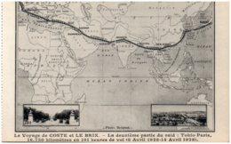 Le Voyage De COSTE Et LE BRIX - La Deuxième Partie Du Raid : Tokio-Paris - Aviation
