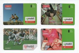 Simobil Prepaid 4 Cards - Slovénie