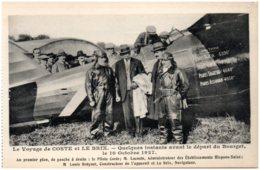 Le Voyage De COSTE Et LE BRIX - Quelques Instants Avant Le Départ Du Bourget Le 10 Octobre 1927 - Aviation