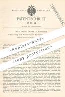 Original Patent - Hyacinthe Orval , Marseille , 1889 , Trocknen Und Karbonisieren Der Wolle | Gewebe , Weber , Weben !! - Historische Dokumente