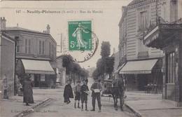 NEUILLY-PLAISANCE - Rue Du Marché - Café Des Sports - Chaussures - Animé - Neuilly Plaisance