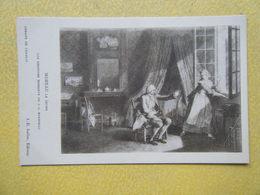 FONTAINE CHAALIS. L'Abbaye De Chaalis. Les Derniers Moments De Jean Jacques Rousseau Par Moreau Le Jeune. - France